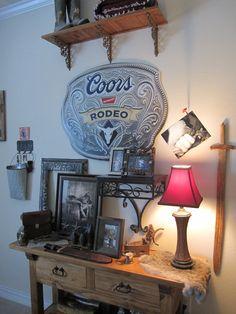 Rustic Country Western Cowboy Boys Room