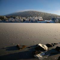 Koutakuva - Talvi lumi ja jää