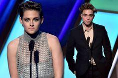 Oops! Kristen Stewart Has a Nip Slip at 2014 Hollywood Film Awards #KristenStewart #RobertPattinson #Twilight