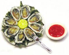 miniature oysters, Kiva Atkinson