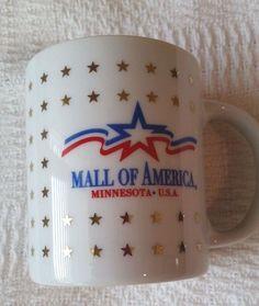 Mall of America (Bloomington, MN) 1990s Ceramic Mug - Excellent Condition!  #MallofAmerica