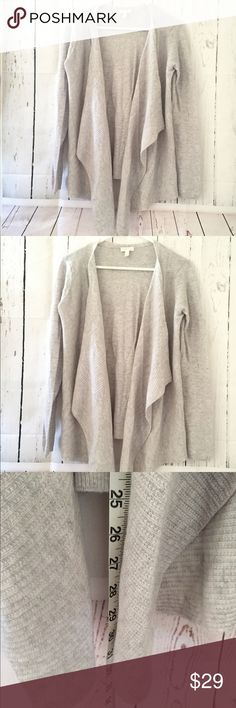Nine West knitted medium open cardigan sweater Excellent condition ...