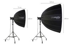 parabolic Softbox for outdoor flash Lamps light photography studio flash Reflection Focusing Parabolic Softboxes Umbrella
