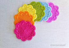 cosicasraquel: Posavasos de Crochet