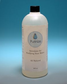 """Here is our 32 ounce size of Purinize. Your best price per ounce. This is our """"Prepper"""" size. Excellent for storage and long term ability to purify water. Use one teaspoon per gallon. this bottle can make 192 gallons of clean drinkable water.    $ 99.99 USD"""