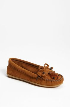 needs a new pair of moccasins..  Minnetonka 'Feather' Moccasin | Nordstrom