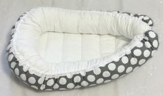 The Baby Nest made with baby soft flannel on top and solid or printed cottons on…