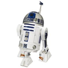 Star Wars 94254 R2-D2 Interactive Astromech Droid http://www.amazon.com/gp/product/B002KHN23S/ref=as_li_tl?ie=UTF8&camp=1789&creative=9325&creativeASIN=B002KHN23S&linkCode=as2&tag=suprmariprod-20&linkId=HR3U4DGQGNGDVPCZ