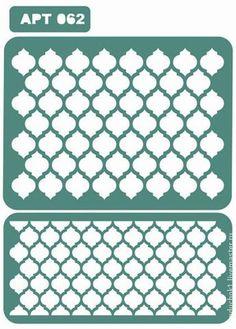 Трафарет 062 - зелёный,трафарет,трафареты,материалы для творчества,Декупаж