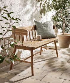 Houten tuinbank | Wooden garden bench | KARWEI 3-2018