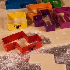 Tetris Cookie Cutters from Firebox.com