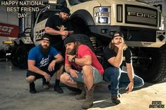 Big Monster Trucks, Bountiful Utah, Diesel Brothers, Diesel Trucks, Beards, Motors, Tat, Pose, Cars