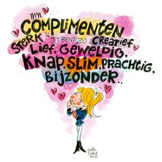 National Compliments Day 2018 by Blond-Amsterdam Amsterdam Quotes, Amsterdam Images, Blond Amsterdam, Happy Birthday Quotes, Watercolor Fashion, Mother Quotes, Care Quotes, E Cards, Texts