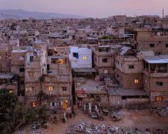 1stdibs | Simon Norfolk - Lebanese Refugees at the Burj el-Barajneh Camp, Beirut