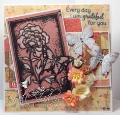 "Digi Galore Digital Stamp Challenge: Wings featuring ""Today"" digital stamp set from Pickled Potpourri www.PickledPotpourri.com  #digi #digistamp #pickledpotpourri"