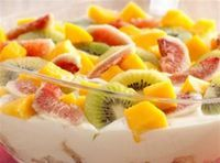 Pavê de Panetone e Frutas