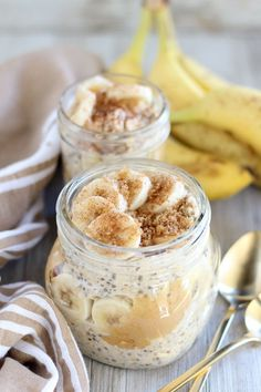 Brown Sugar Banana Overnight Oats