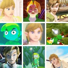 The best faces of Link <--- so majestic XD