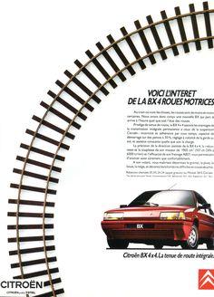 Publicite Citroën - L'Automobile mai 1989.