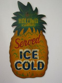 #Vintage #Hawaiian Signart - handpainted and one-of-a-kind!