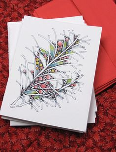 handmade greeting card by openseed on Etsy