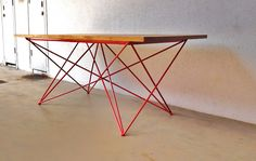 INDUSTRIAL FURNITURE II: DINING TABLE   Second Charm