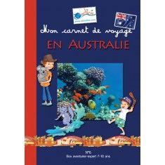 Magazine de jeux pour enfant de primaire autour de l'Australie