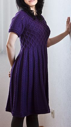 Ravelry: 09 Grey Dress pattern by Rebecca Design Team