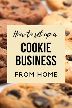 Bakery Business Plan, Food Business Ideas, Baking Business, Cake Business, Catering Business, Business Help, Business Advice, Online Business, Cookie Bakery