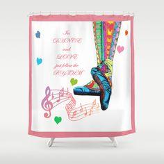 #valentinegift #valentines #ballet #clock #love #dance $shower #curtains