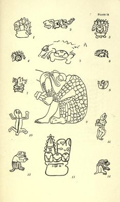Animal figures in the Maya codices, - Biodiversity Heritage Library