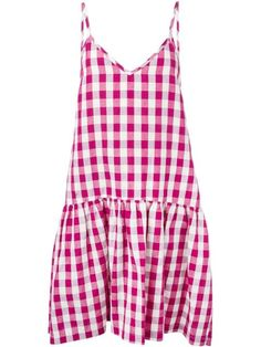 Erika Cavallini Semi Couture Gingham Flared Dress. Shop it and 49 other spring dresses under $500.