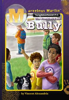 Marvelous Martin and the Freckle Face Bully Written By Vincent Alexandria (Black Interest Chapter books) by TumTumPublishing on Etsy