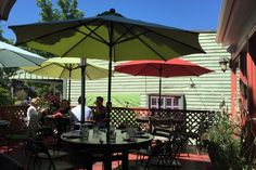 Heather's has great outdoor seating as well. I enjoyed a very good  Sunday…