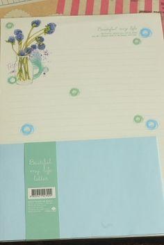 Photo1: Kawaii Letter Set - Beautiful My Life