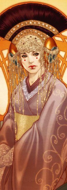 Padme Naberrie Amidala Skywalker, Queen of the Naboo