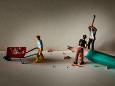 Fotografia macro revela sociedade de micro pessoas   Comunicadores
