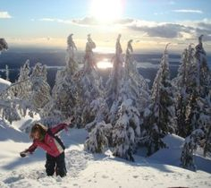 Tips for snowshoeing with kids in Vancouver
