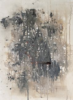 "Mary Lea Bradley, 869 Untitled, acrylic on paper, 24 x 18"", abstract painting"