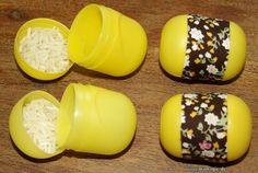 Hörmemory aus Überraschungs-Eiern