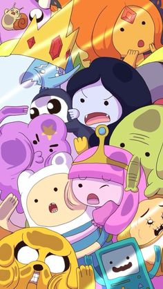 Adventure Time, tight space, lol!