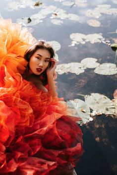 Lotus flower – LOUISE XIN  couture dress Couture Dresses, Lotus Flower, Coming Out, Mud, Pure Products, My Favorite Things, Flowers, Instagram, Fashion