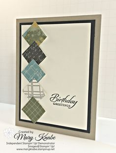 Stampin' Up! Going Places Designer Series Paper Stack and Wetlands Stamp Set