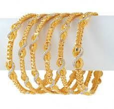 Gemstones Jewellery Designs on Indian Jewellery Design Gold Stone Bangles Latest Collection 2010 Gold Bangles Design, Gold Jewellery Design, Designer Jewellery, Designer Wear, Bangle Set, Jewelry Patterns, Gemstone Jewelry, Gold Jewelry, Indian Jewelry