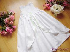 dreamsbysteffi ® - Taufkleid mit Überrock /Satinschleife