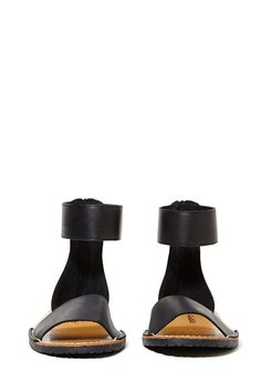 Avery Sandal - Black - Flats | Sandals | Starlet Nights