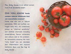 Eczema Life — Itchy Dozen Worst Foods for Eczema