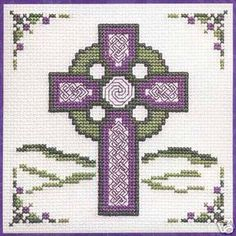 Free Counted Cross Stitch Patterns | Textile Heritage Celtic Cross Picture Cross Stitch Kit