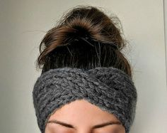 This wonderfully soft, knitted ear warmer is the quintessential fall accessory. A cozy, chic, hand-knitted headband has a sewn enclosure and stretches to fit most sizes. Measuring 8in (20cm) long and 2.5in (6.5cm) wide at its widest point, this headband will keep your ears warm and cozy all winter long. Currently available in several great colors, shown in beige. To see this headband in grey, click this link https://www.etsy.com/listing/469753870. Dont hesitate to convo me...
