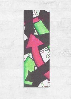 VIDA Statement Clutch - Colour Urban Arrows by VIDA K2Lht
